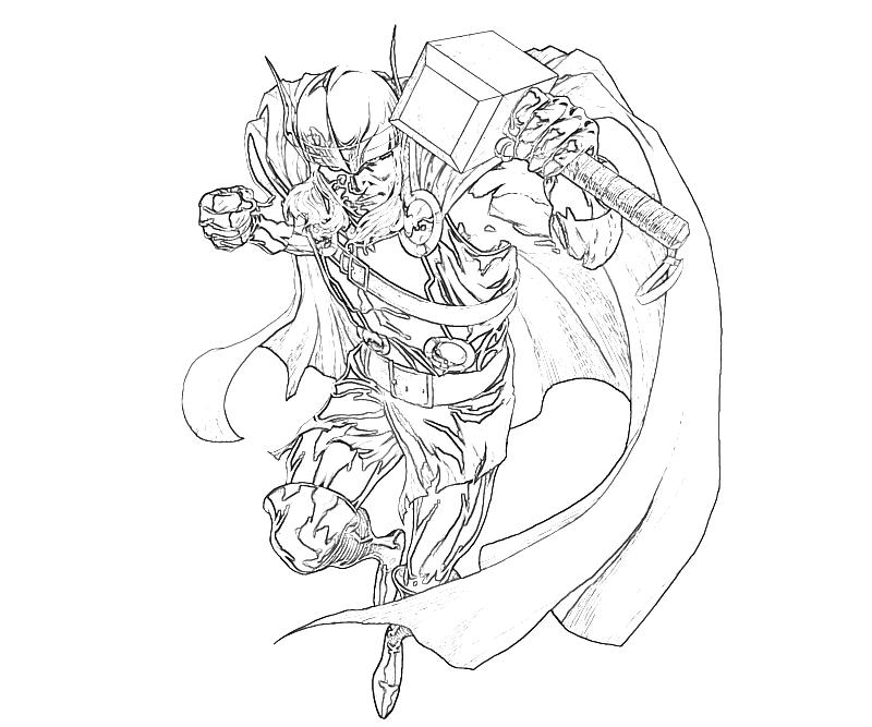 Bolt Coloring Pages To Print