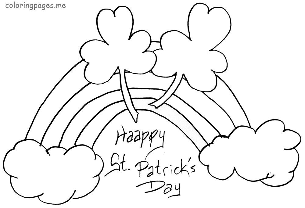 coloring pages st patrics day - photo#27