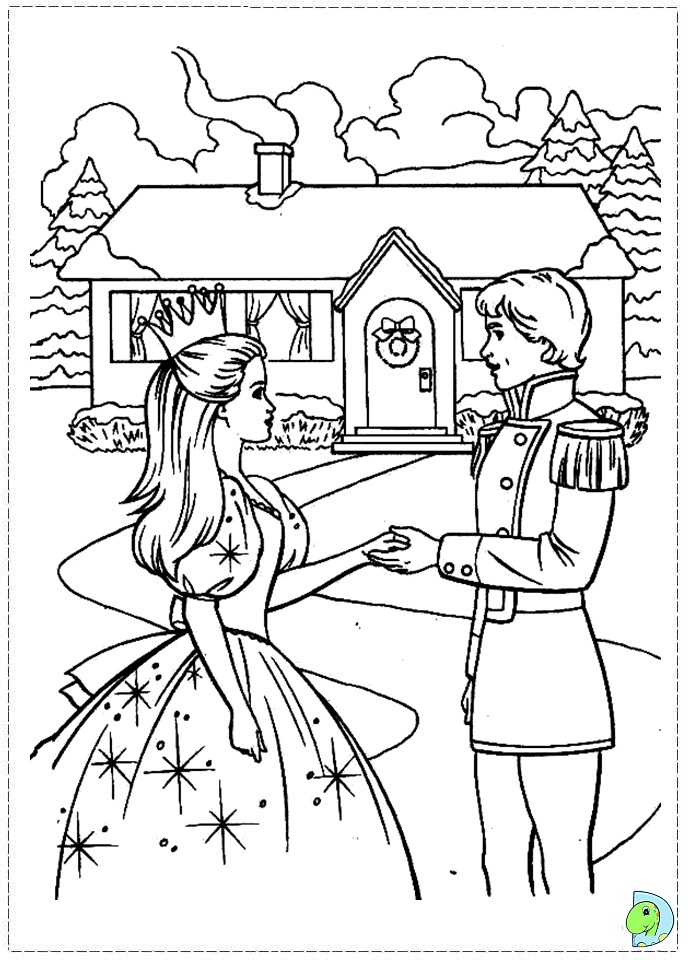 Free nutcracker coloring pages az coloring pages for Nutcracker ballet coloring pages