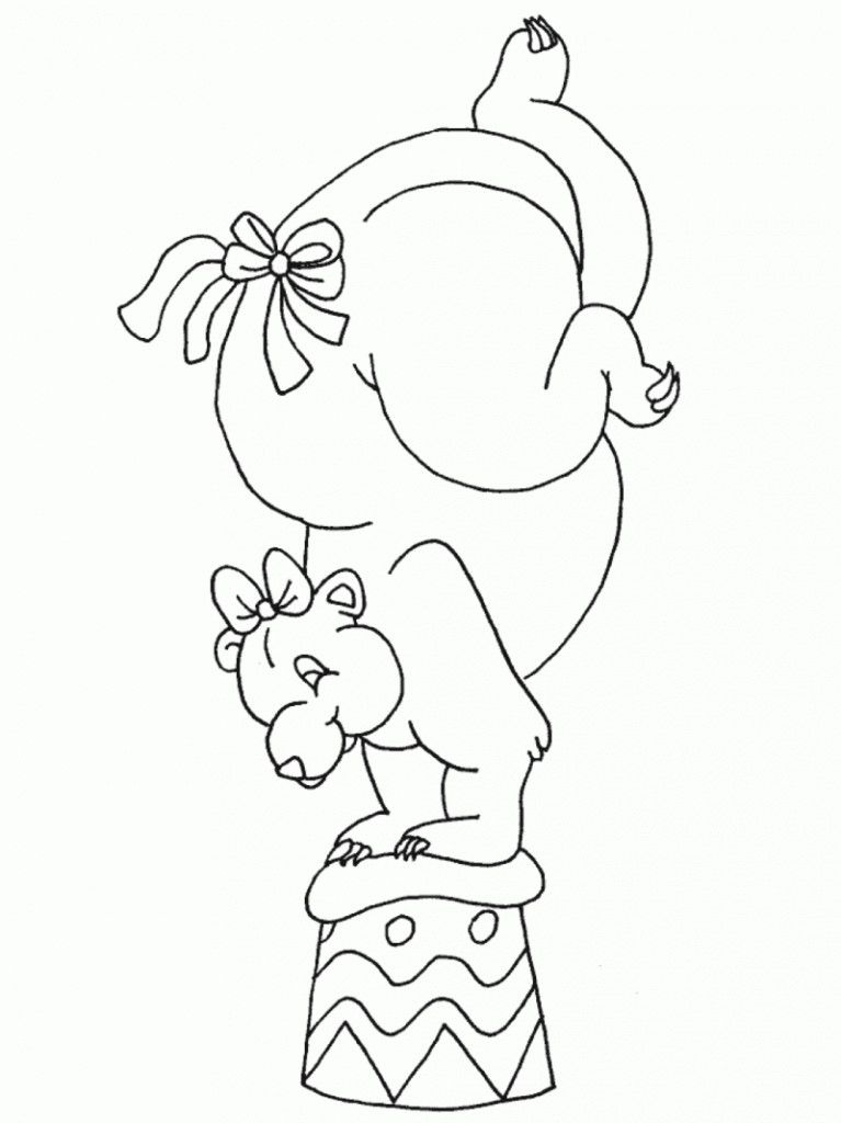 circus theme coloring pages - photo#26