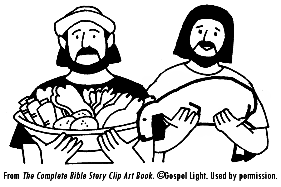 cain and abel coloring pages - photo#16