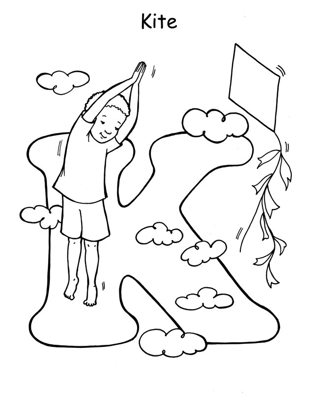 Kite Bird Coloring Pages