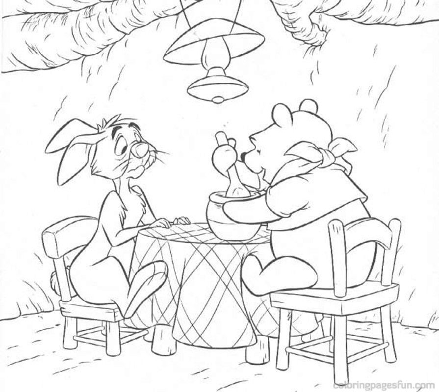 Winnie the Pooh Coloring Pages 146 | Free Printable Coloring Pages ...