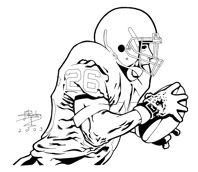 coloring pages texas tech football - photo#30