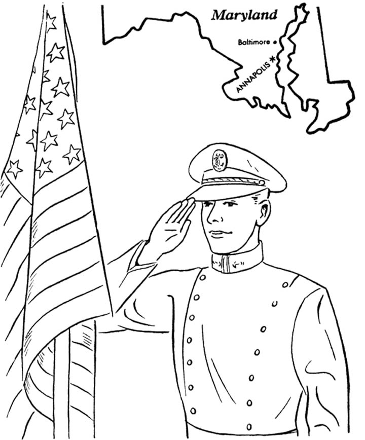 Memorial Day Printable Coloring Pages - AZ Coloring Pages