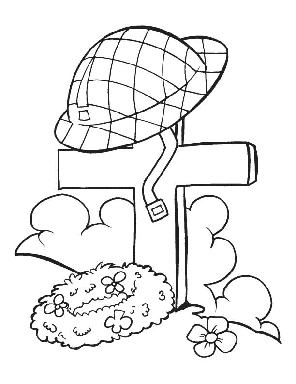 veterans day online coloring pages - photo#14