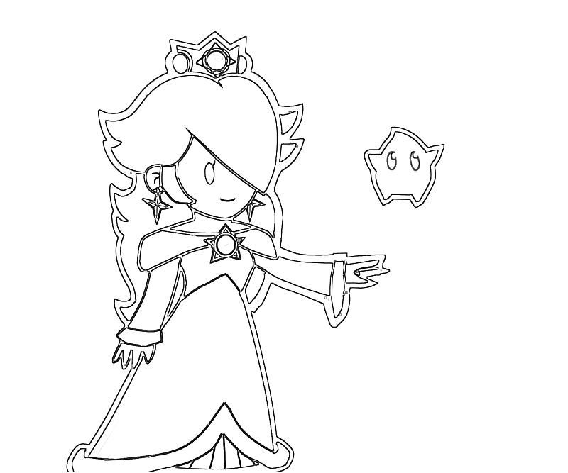 princess rosalina coloring pages  az coloring pages, printable coloring