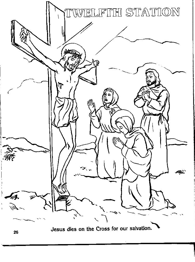 Coloring Page Cross  Coloring Home