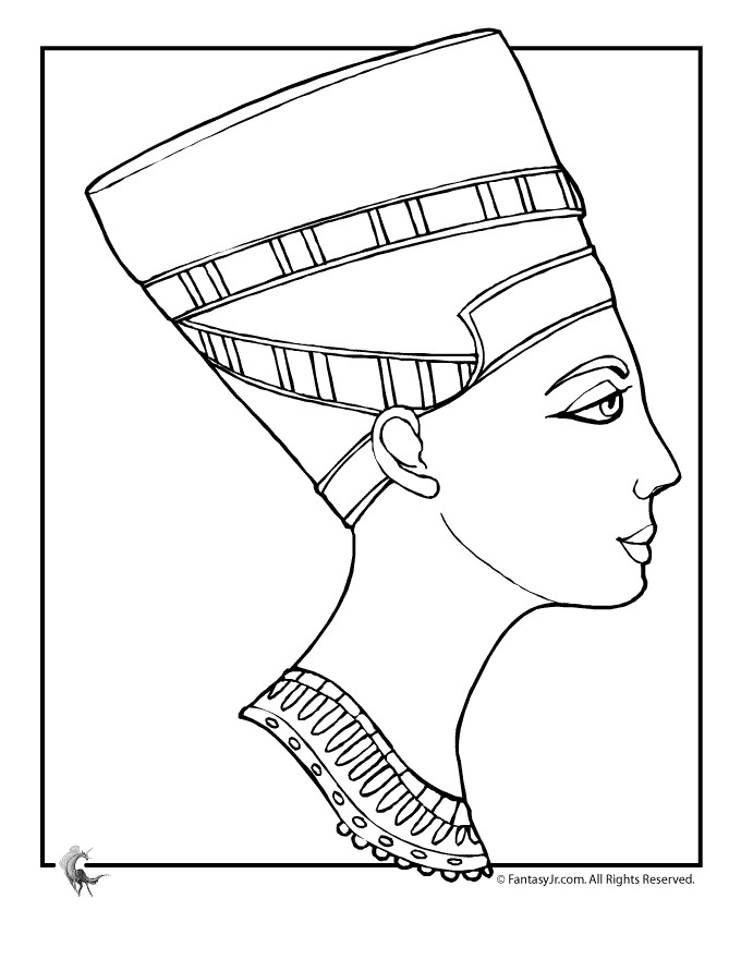 Ancient Egyptian Coloring Pages | Printable Coloring Pages