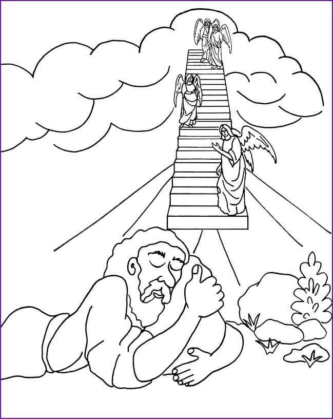 abraham coloring pages sunday school - photo#20