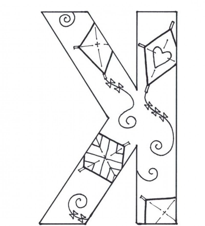 Letter k coloring pages coloring home for The letter k coloring pages