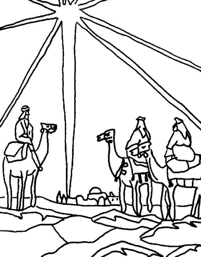 wise men Colouring Pages (page 3)