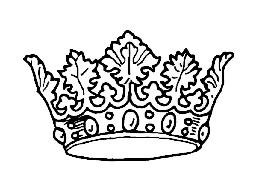 Princess Crown Coloring Page Az Coloring Pages Tiara Coloring Page