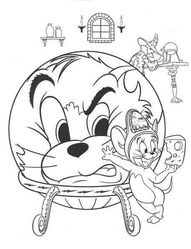 Tom and Jerry coloring pages | Free Coloring Pages | 824x632