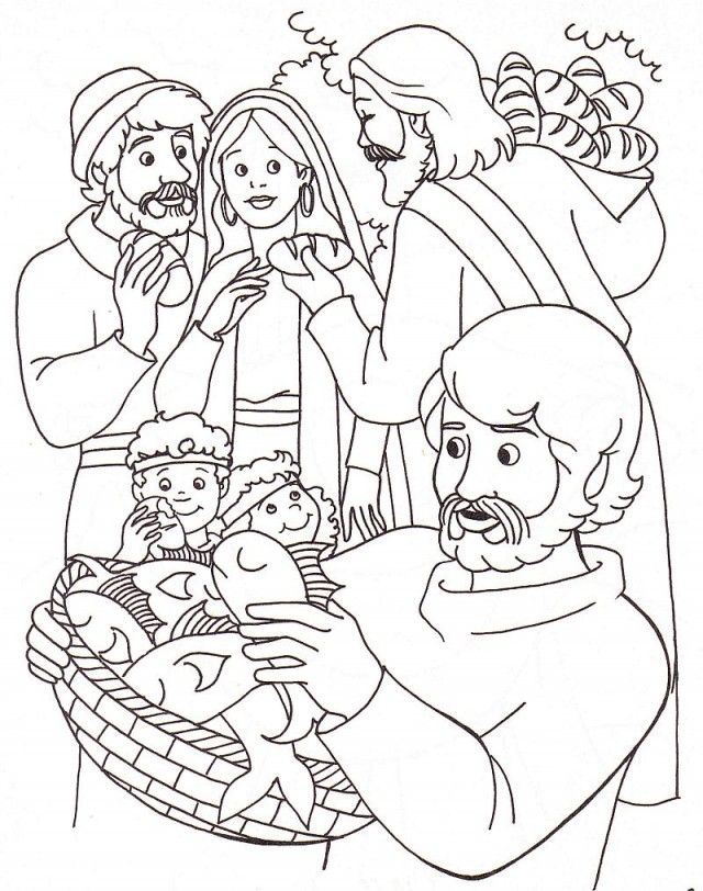 Sunday School Coloring Pages For Preschoolers Jesus Turns Water