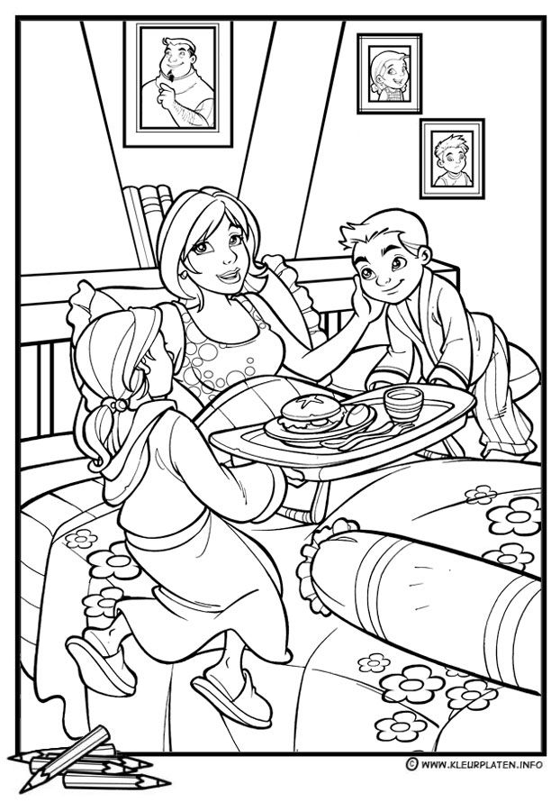 Mothers-day-coloring-16 | Free Coloring Page Site