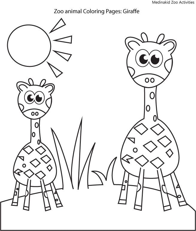 zookeeper coloring pages - photo#31
