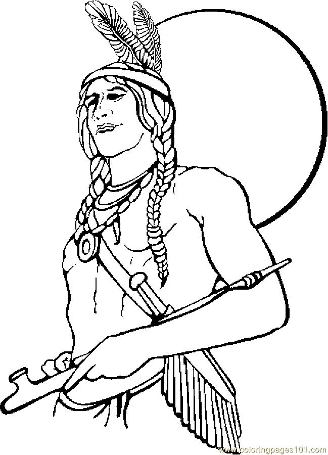 Native American Coloring Pages For Children Az Coloring Indian Coloring Pages
