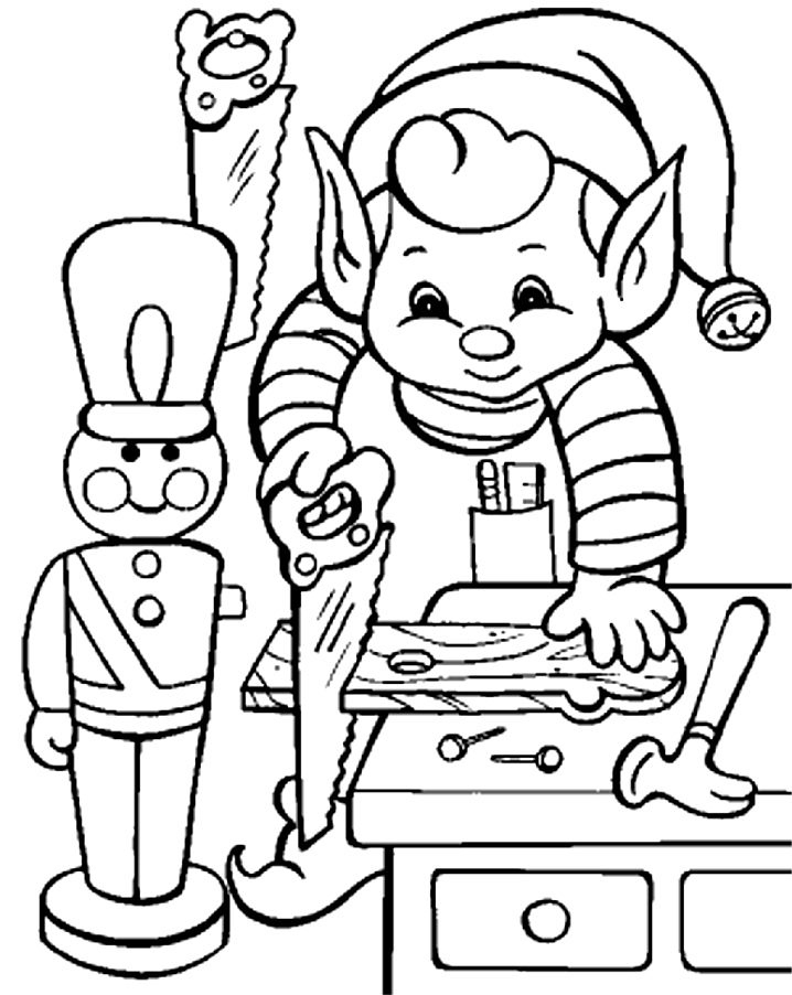 coloring pages on christmas - photo#26