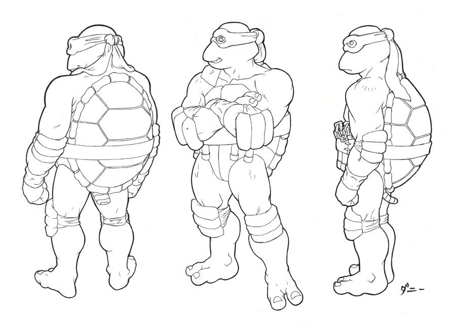 TMNT Character sheet 2 by danimation2001 on deviantART
