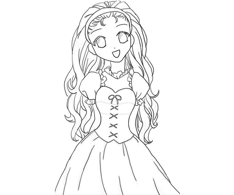 Harvest Moon Coloring Pages Harvest Moon Popuri Cute |