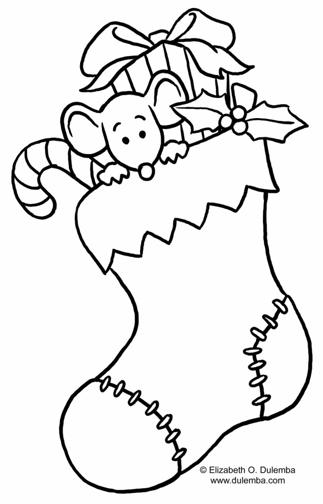 beautiful christmas stocking coloring pages gkfdt laptopezine az coloring pages