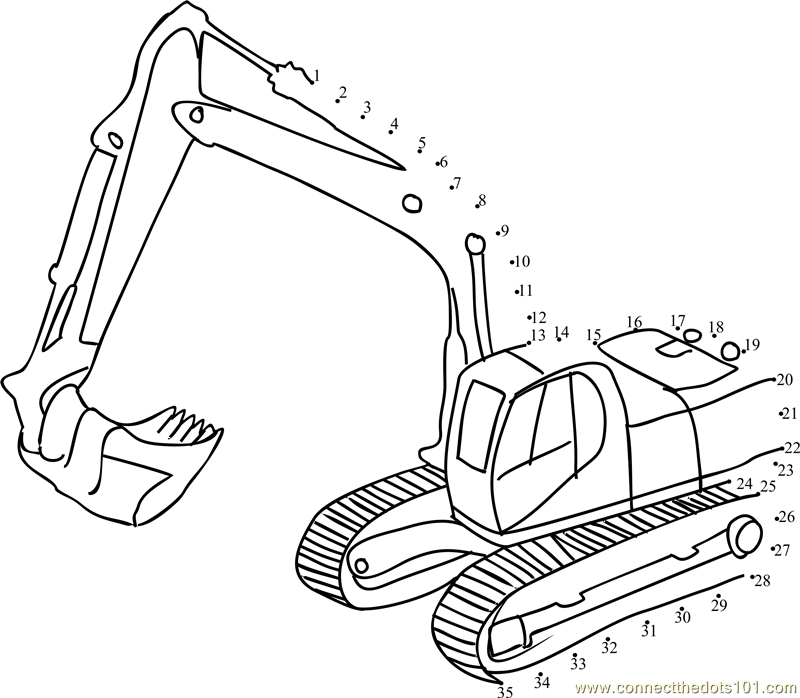 Digger Coloring Pages Coloring Home Digger Coloring Pages