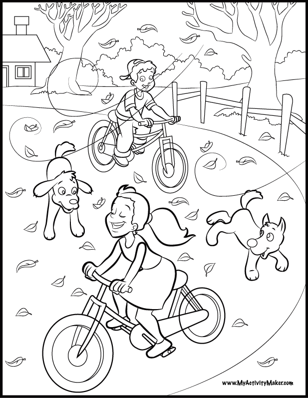 coloring pages child playing - photo#25