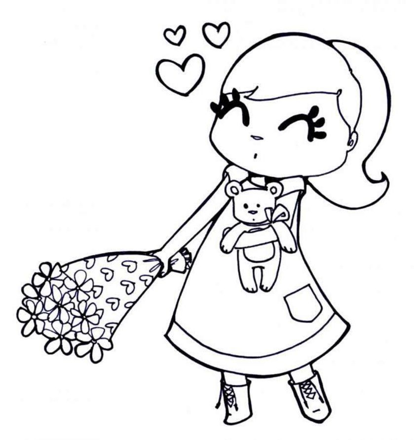 oga coloring pages for kids - photo#3