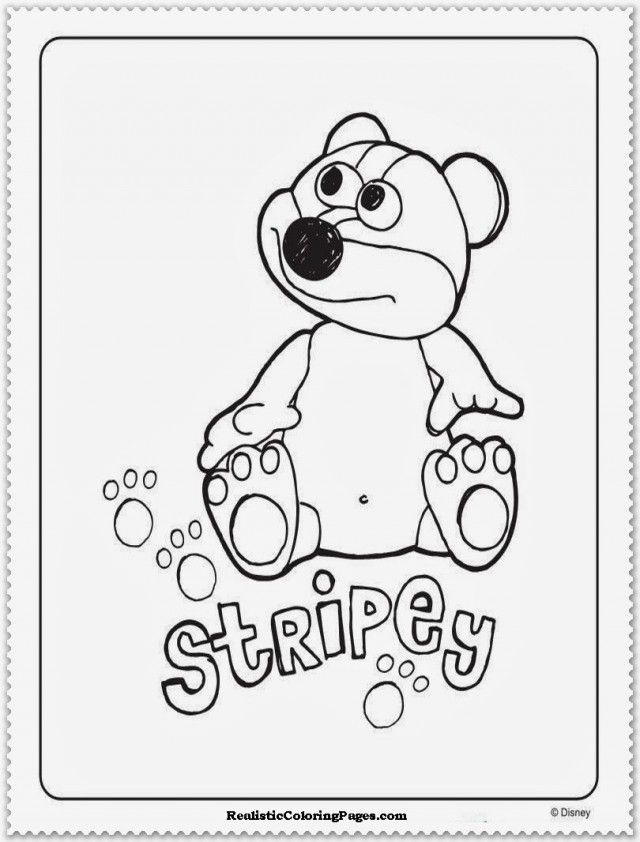 Timmy Time Characters Coloring Pages Realistic