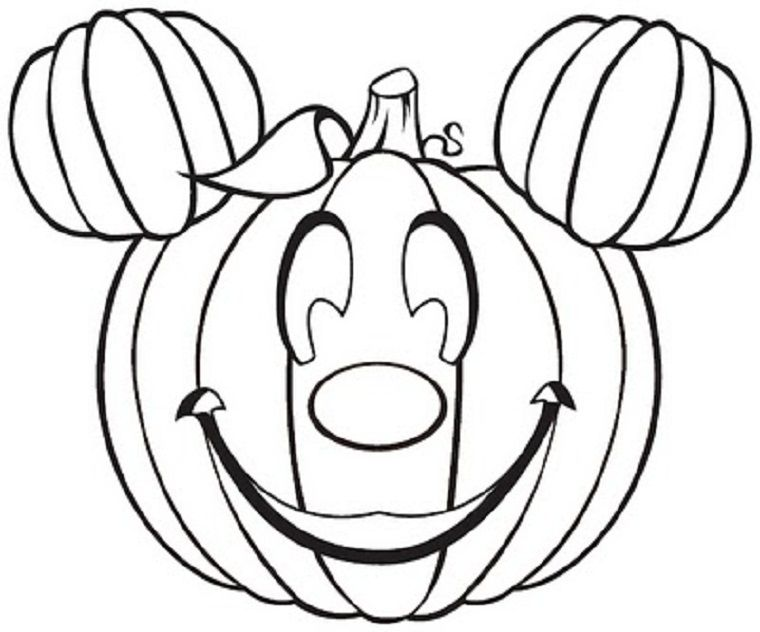 October Coloring Page - Coloring Home