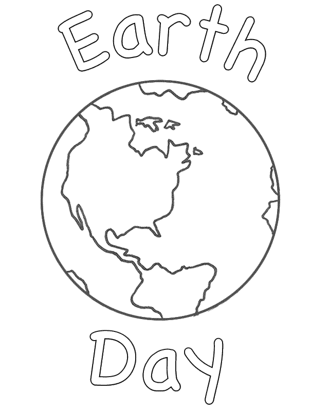 Planet Earth With Day