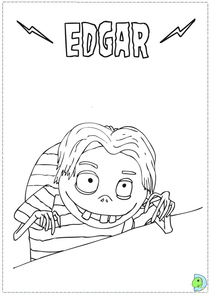 Frankenweenie Coloring Pages