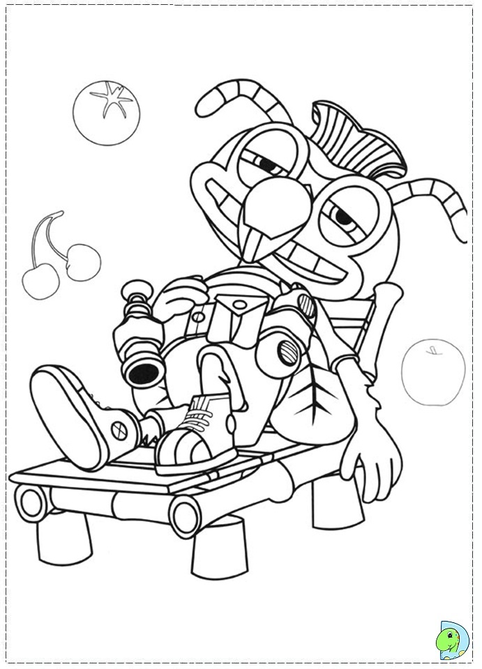mooshka tots coloring pages - photo#39