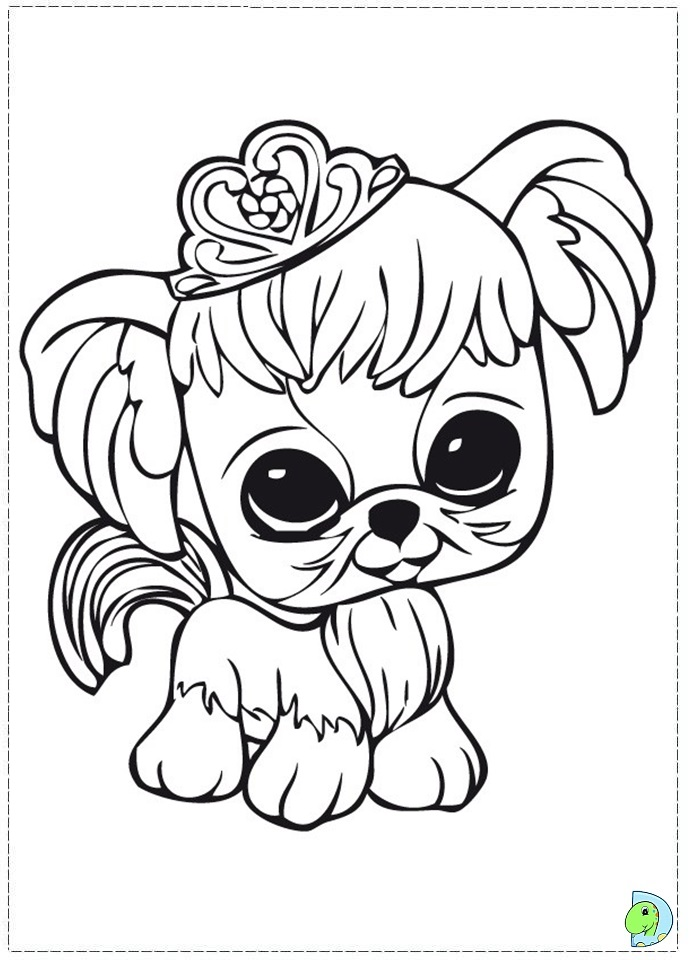 littlest pets shop coloring pages - photo#6