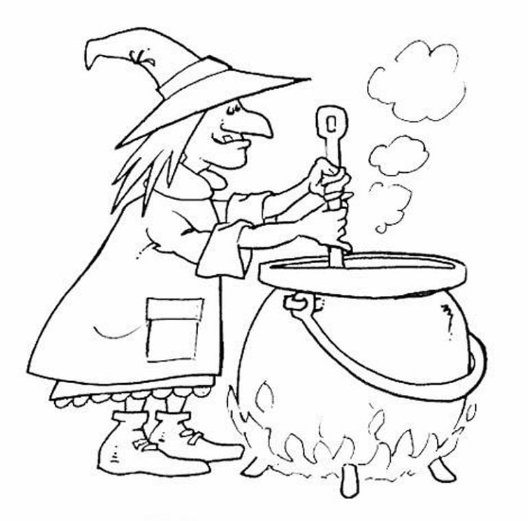 La befana coloring page az coloring pages for La befana coloring page