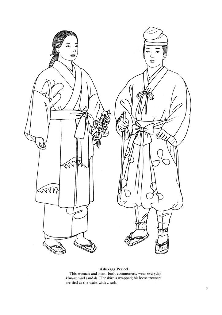 Japanese Coloring Pages Coloring
