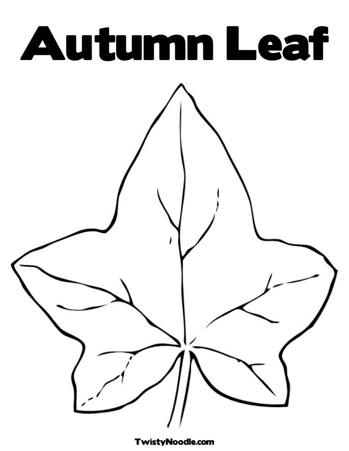 Autumn Leaves Coloring Page Coloring Home