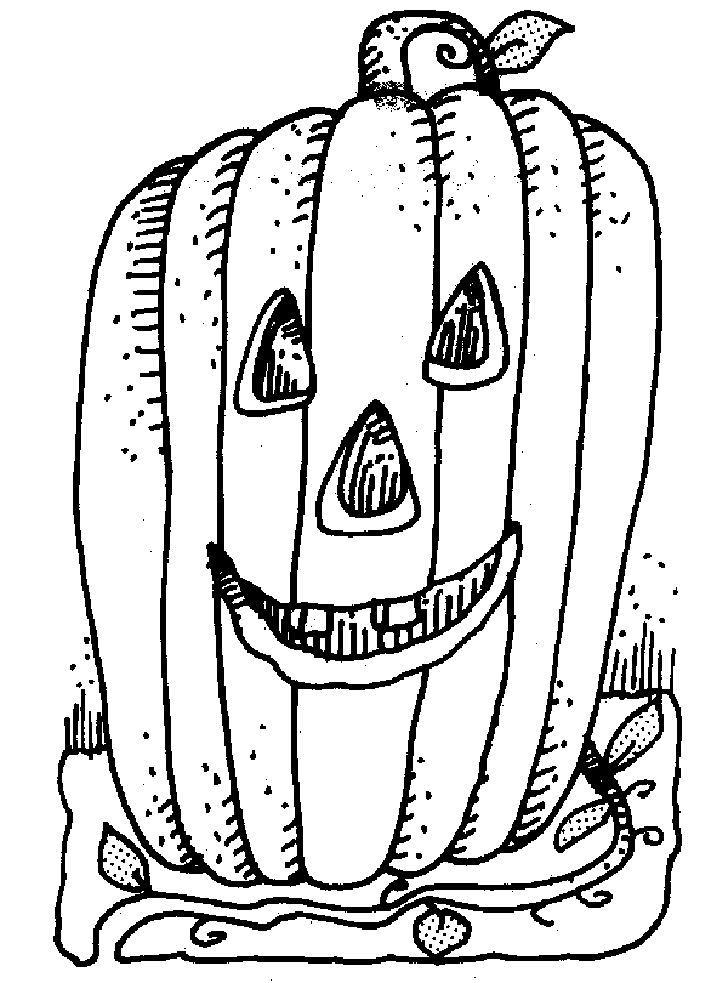 Jack O Lantern Coloring Pages To Print  Coloring Home