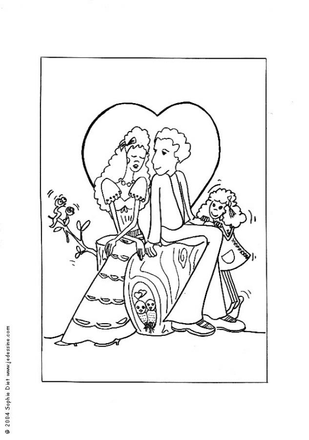 Wedding Coloring Pages Pdf : Free wedding coloring pages home