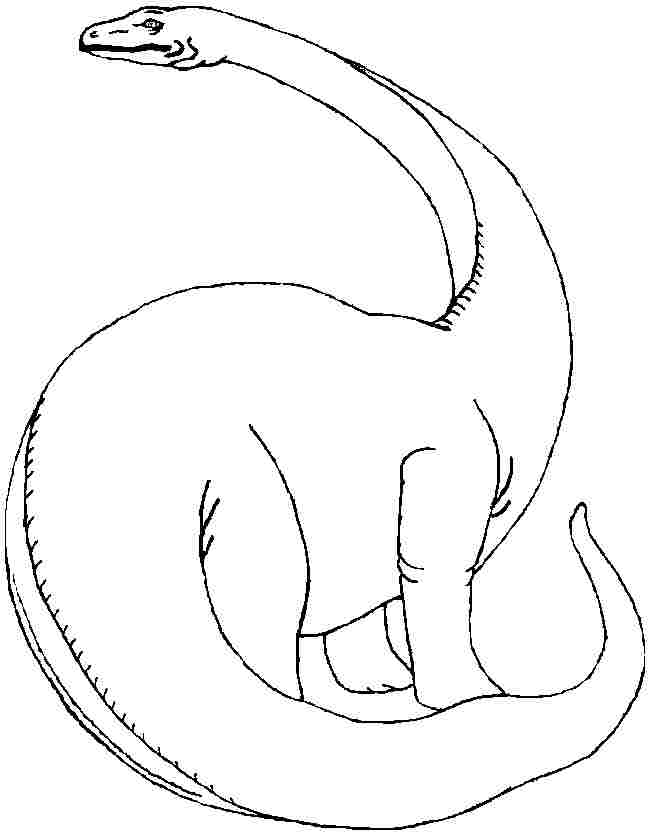 Brontosaurus Coloring Page Az Coloring Pages Brontosaurus Coloring Page
