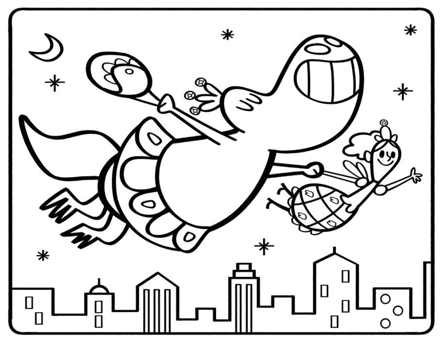 dinosaur tooth coloring pages - photo#2