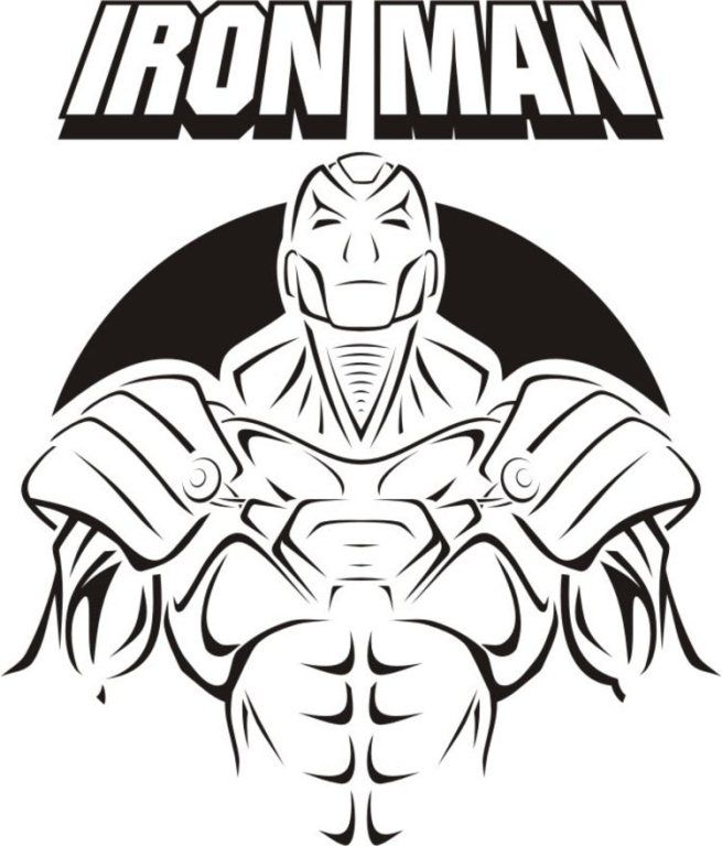Unarmed Iron Man coloring page | Image Coloring Pages