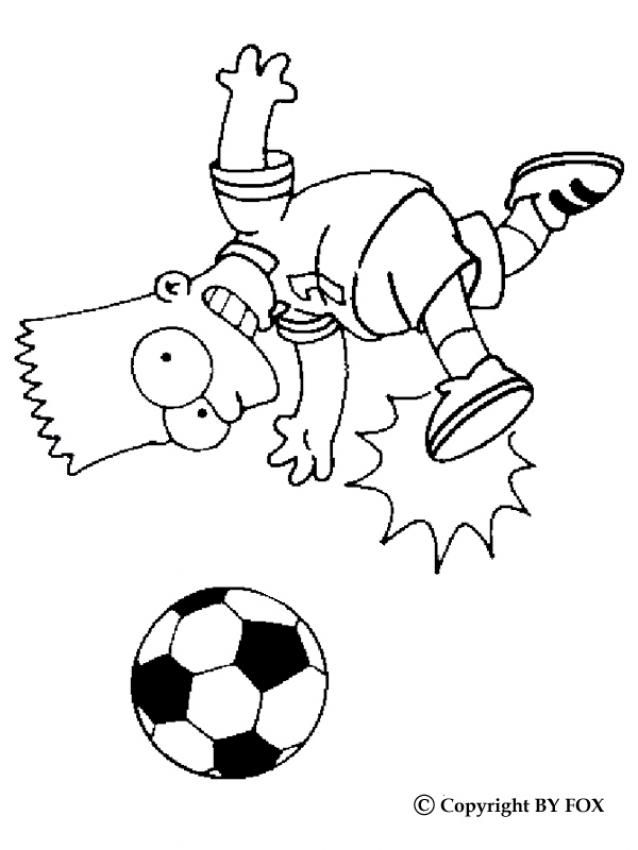 Coloring Pages Bart Simpson