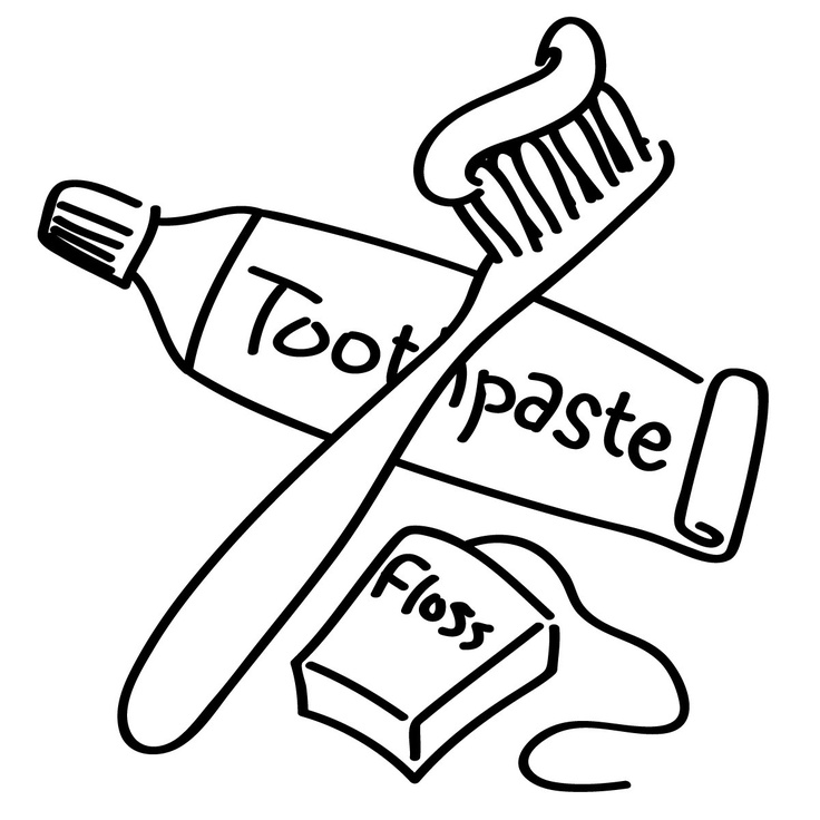 coloring pages hygiene - photo#4