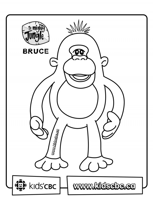doodlebops printable coloring pages - photo#28