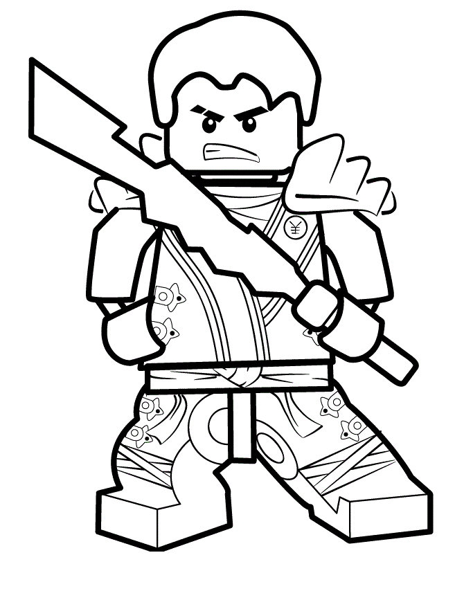Free Printable Lego Ninjago Coloring Pages - Coloring Home
