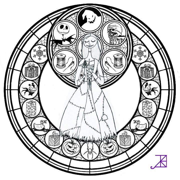 Jack and sally coloring pages az coloring pages for Jack and sally coloring pages
