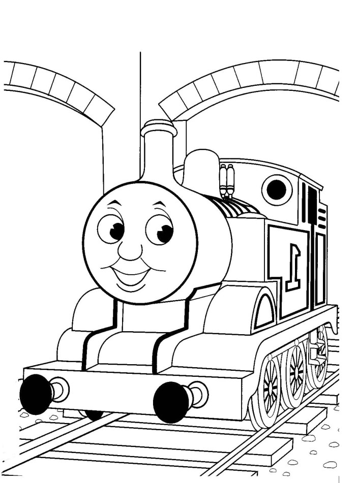 free thomas the train coloring pages az coloring pages