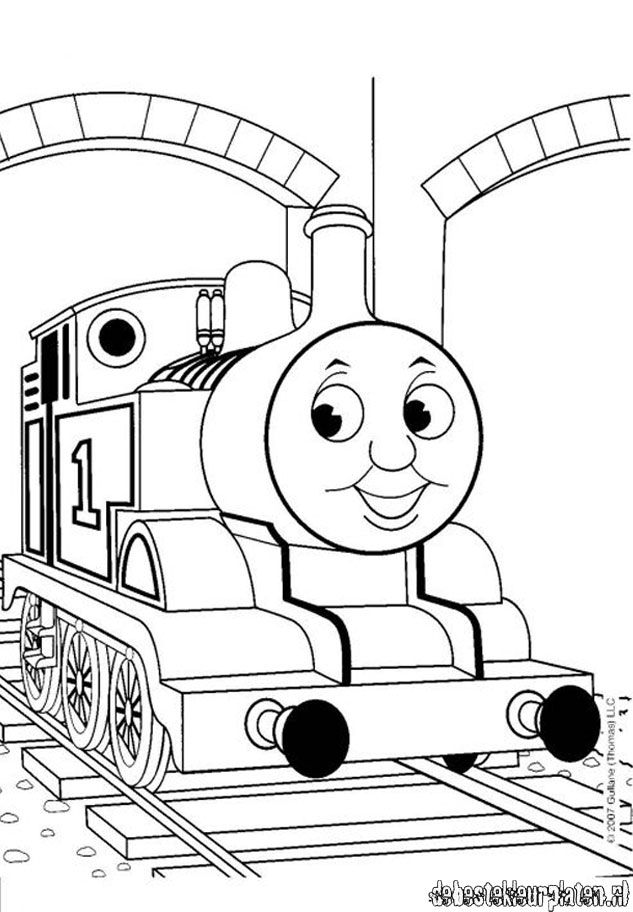 thomas and friend coloring pages - photo#11